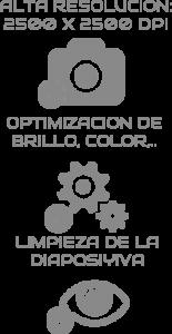 Proceso de Digitalización de Diapositivas